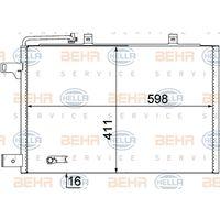 Original Hella Kondensator, Tiefe 16 Mm 8FC 351 301-684
