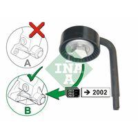 Original INA Spannrolle, Keilrippenriemen 531 0790 10