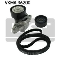 Original SKF Spannrollensatz, Nebentrieb VKMA 36200