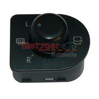 METZGER Schalter, Spiegelverstellung 0916065ME